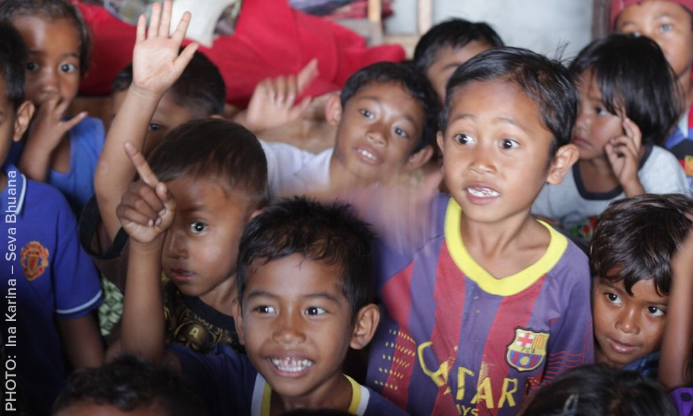 We're helping to launch an animal welfare program in public schools in Bali! PHOTO - Seva Bhuana