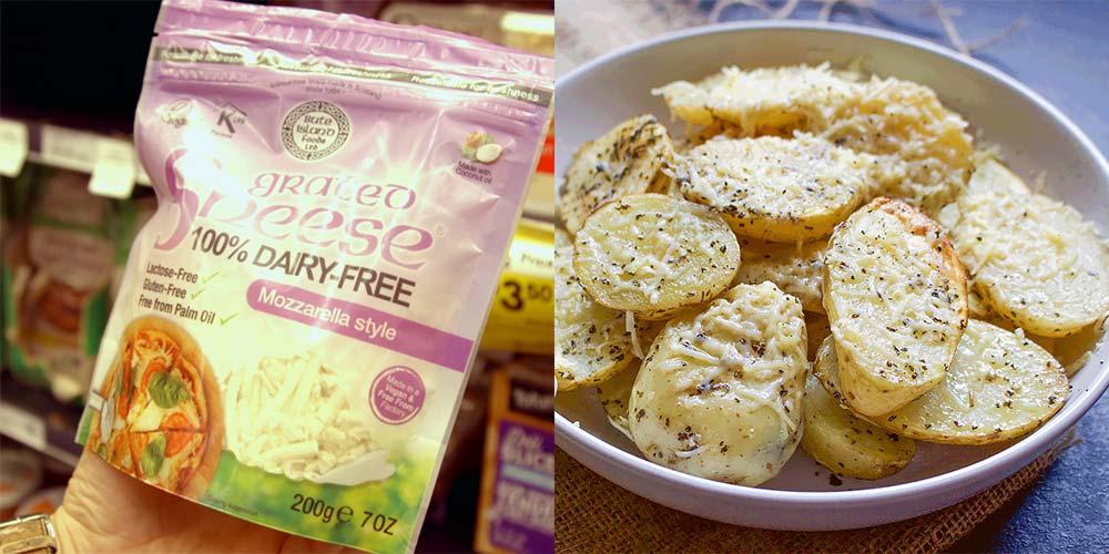 Left: Sheese Mozzarella | Right: PHOTO - Bute Island Foods