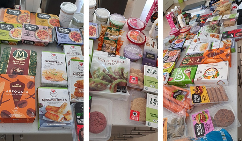 "Six lucky winners were drawn, and their enthusiasm was palpable. Maree from WA said: ""Thank you so much for the groceries! My family and I really enjoyed them. Our favourites were the vegetable dumplings and the black bean dip. They are now staples in our home … I love what your foundation is doing for animals. Respect!"""